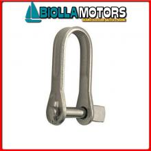 0121564 GRILLO STAMP D6 INOX Grillo Dritto Key Pin
