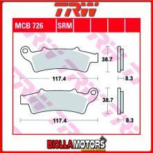 MCB726SRM PASTIGLIE FRENO ANTERIORE TRW Kymco 125 People GTi 2010- [SINTERIZZATA- SRM]