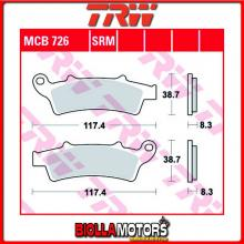 MCB726 PASTIGLIE FRENO ANTERIORE TRW Kymco 125 People GTi 2010- [ORGANICA- ]