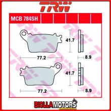 MCB784SH PASTIGLIE FRENO POSTERIORE TRW Kawasaki ZX-6R 636 Ninja 2013-2015 [ORGANICA- ]