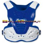 PT02084C Pettorina Reactor 2 Evolution COL. BLU CROSS OFF ROAD ENDURO