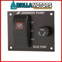 1823023 PANNELLO JOHNSON BILGE MAN/OFF/AUTO 12V Pannello Controllo Johnson
