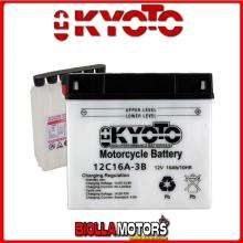 712163 BATTERIA KYOTO 12C16A-3B [SENZA ACIDO] 51913 MOTO SCOOTER QUAD CROSS [SENZA ACIDO]