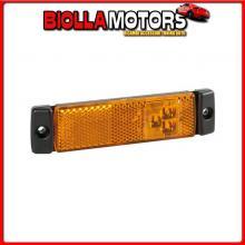 97916 LAMPA LUCE SUPPLEMENTARE A 3 LED CON CATARIFRANGENTE - 24V - ARANCIO