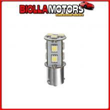 98259 LAMPA 24/28V HYPER-LED 33 - 11 SMD X 3 CHIPS - (P21W) - BA15S - 1 PZ - D/BLISTER - BIANCO - DOPPIA POLARIT?