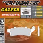FD205G1375 PASTIGLIE FRENO GALFER SINTERIZZATE ANTERIORI HONDA ST 1100 PAN EUROPEAN CBS/ABS/TCS 96-01