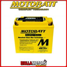 MB18U BATTERIA MOTOBATT 51815 AGM 813181 51815 MOTO SCOOTER QUAD CROSS