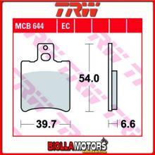MCB644EC PASTIGLIE FRENO ANTERIORE TRW Sachs 50 Squab 1996- [ORGANICA- EC]