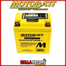 MB3U BATTERIA MOTOBATT YB3L-A AGM 813032 YB3LA MOTO SCOOTER QUAD CROSS
