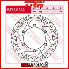 MST311RAC DISCO FRENO ANTERIORE TRW Suzuki DR 250 1995-2000 [RIGIDO - CON CONTOUR]
