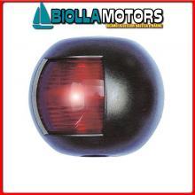 2111710 FANALE NAVIGAZIONE FLAT RED/GREEN BLACK Fanali (R.I.Na.) Mini Flat Black