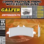 FD373G1375 PASTIGLIE FRENO GALFER SINTERIZZATE ANTERIORI SUZUKI GSX R 100012-