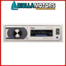 5640106 STEREO BOSS MARINE MR632UAB Radio-Lettore BOSS MR632UAB RDS / USB / SD / Bluetooth