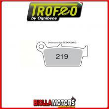 43021900 PASTIGLIE FRENO POSTERIORE OE TM all models 125 2001-2004 125CC [ORGANICHE]