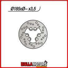 659117 DISCO FRENO POSTERIORE NG MOTOR HISPANIA Rolling Bull 50CC 1997 117 185803,56