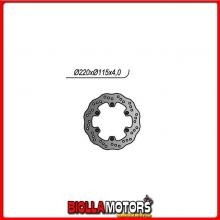 659422X DISCO FRENO POSTERIORE NG YAMAHA DT R LC (3PY) 125CC 1989/1992 422X 220/133/115/4/6/6,5 FISSO X