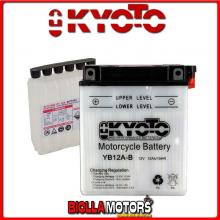 712123 BATTERIA KYOTO YB12A-B [SENZA ACIDO] YB12AB MOTO SCOOTER QUAD CROSS [SENZA ACIDO]