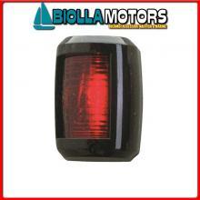 2111410 FANALE NAVIGAZIONE RED/GREEN BLACK Fanali (R.I.Na.) Mini Black