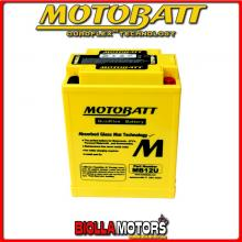 MB12U BATTERIA MOTOBATT 12N124A AGM E06002 12N124A MOTO SCOOTER QUAD CROSS