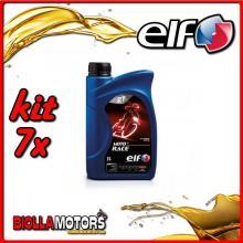 KIT 7X LITRO OLIO ELF MOTO 2 RACE SINTETICO - 7x 201733