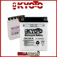 712121 BATTERIA KYOTO YB12A-A [SENZA ACIDO] YB12AA MOTO SCOOTER QUAD CROSS [SENZA ACIDO]