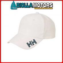 3049800 CREW CAP 001 WHITE STD Cappellino HH Crew Cap