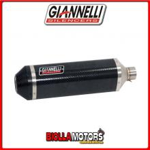 73806C6Y+71211IN TERMINALE GIANNELLI IPERSPORT HONDA MSX 125 2013-2015 CARBONIO/CARBONIO + COLLETTORE RACING