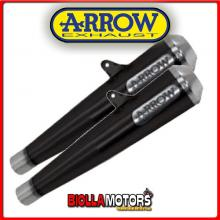71851PRN MARMITTE ARROW PRO-RACING TRIUMPH Thruxton 1200 R 2016-2016 DARK/INOX