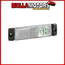97914 LAMPA LUCE SUPPLEMENTARE A 3 LED CON CATARIFRANGENTE - 24V - BIANCO