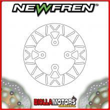 DF5128A DISCO FRENO POSTERIORE NEWFREN SCORPA SY 125cc F 2003- FISSO