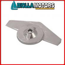 5126116 ANODO MOTORE YAMAHA Placca Piede 9.9D/15D