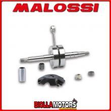 5313275 ALBERO MOTORE MALOSSI MHR BENELLI 491 SPORT 50 2T LC (MINARELLI) BIELLA 85 - SP. D. 13 CORSA 44 MM -