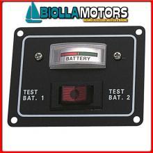 2101640 PANNELLO BAT TESTER< Pannello Tester Rocker per 2 Batterie