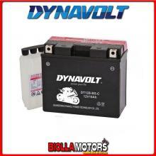 DT12B-BS-C BATTERIA DYNAVOLT YT12B-BS SIGILLATA CON ACIDO YT12BBS MOTO SCOOTER QUAD CROSS