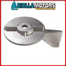 5123018 ANODO MOTORE MERCURY Pinna 50/60 (2T) - 40/50 EFI (4T)