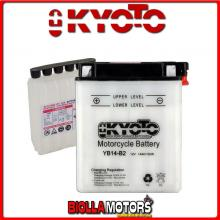 712146 BATTERIA KYOTO YB14-B2 [SENZA ACIDO] YB14B2 MOTO SCOOTER QUAD CROSS [SENZA ACIDO]