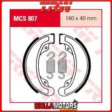 MCS807 GANASCE FRENO POSTERIORE TRW Honda CB 250 N 1979-1982 [ORGANICA- ]
