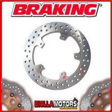 RF8515 REAR BRAKE DISC BRAKING PEUGEOT GEOPOLIS 125cc 2008-2009 FIXED