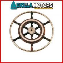 4645580 RUOTA TIMONE D800 CIRCLE MOGANO/OTTONE Ruote Timone Mogano - IA