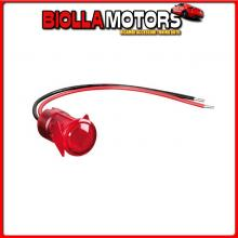45568 LAMPA SPIA A LED ROSSO - 12/24V - 20A