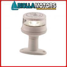 2113423 FANALE TA LED 12/24 WHITE 360 BLACK Fanali Testa Albero LED Thin (R.I.Na.)