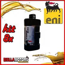 KIT 8X LITRO OLIO ENI FORK OIL 7.5W FORCELLA - 8x E142691