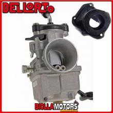 BR-53+09357 CARBURATORE DELLORTO VHST 28 BS + COLLETTORE INCLINATO ROTAX 122