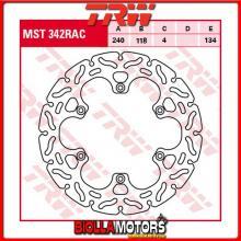 MST342RAC DISCO FRENO POSTERIORE TRW Suzuki RM 125 1999-2005 [RIGIDO - CON CONTOUR]