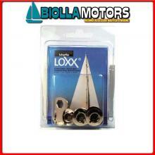 3214295 CONFEZIONE RONDELLA ALTA LOXX/TENAX 10PZ 10 Rondelle Alte Loxx - Tenax in Blister
