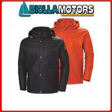 3040656 HH GALE RAIN JCKT 590 NAVY 3XL Giacca Cerata HH Gale Rain Jacket