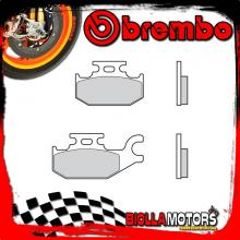 07GR49SD PASTIGLIE FRENO POSTERIORE BREMBO BOMBARDIER-CAN AM DS left/rear 2006- 250CC [SD - OFF ROAD]