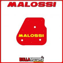 1411412 SPUGNA FILTRO ARIA MALOSSI DINLI HELIX DL603 90 2T (06B93) RED SPONGE PER FILTRO ORIGINALE -