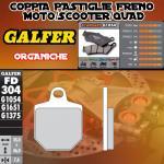 FD304G1054 PASTIGLIE FRENO GALFER ORGANICHE ANTERIORI MAGURA 4 PADS CALIPER SM 07-