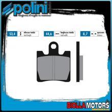 174.0018 PASTIGLIE FRENO POLINI ANTERIORE SYM GTS 125 EVO 125CC 2007- ORGANICA